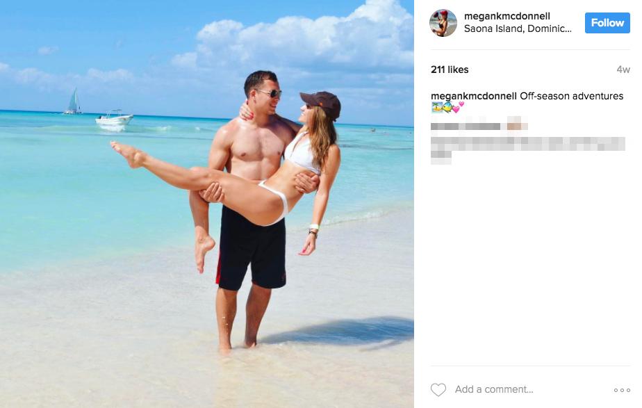 Joe Schobert's Girlfriend Megan McDonnell