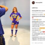 Lonzo Ball's girlfriend Denise Garcia -Instagram