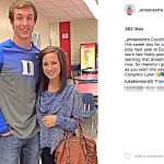 Luke Kennard's Girlfriend Anna Castro- Instagram