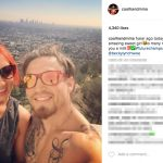 Luke Sanders' girlfriend Becky Lynch- Instagram
