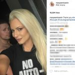 The Miz's Wife Maryse Mizanin -Instagram