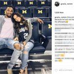 Zak Irvin's girlfriend Gracie Norton- Instagram