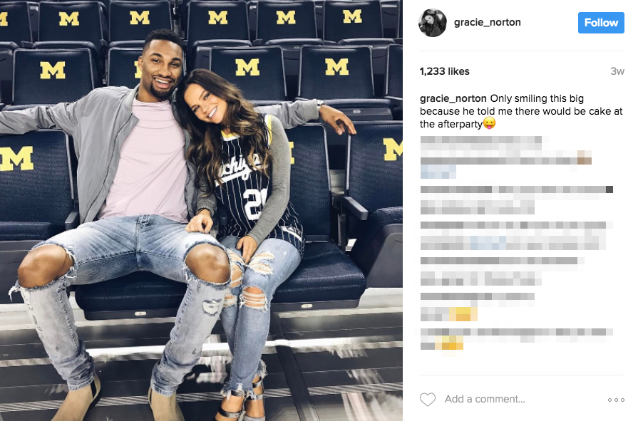 Zak Irvin's girlfriend Gracie Norton