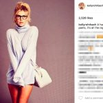 Aaron Rodgers' Girlfriend Kelly Rohrbach - Instagram