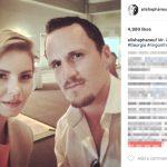 Dion Phaneuf's wife Elisha Cuthbert - Instagram