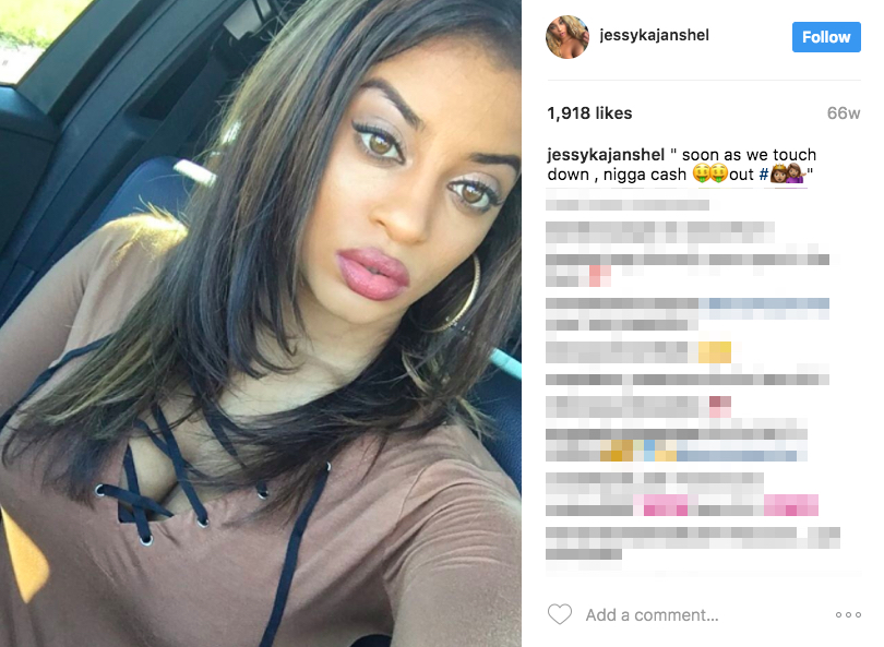 James Harden's Girlfriend Jessyka Janshel -Instagram