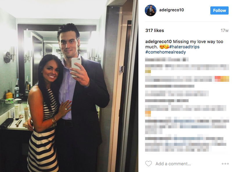 John Gibson's Girlfriend Alexa DelGreco