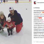 Marcus Johansson's Wife Amelia Falk-Instagram
