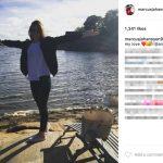 Marcus Johansson's Wife Amelia Falk -Instagram