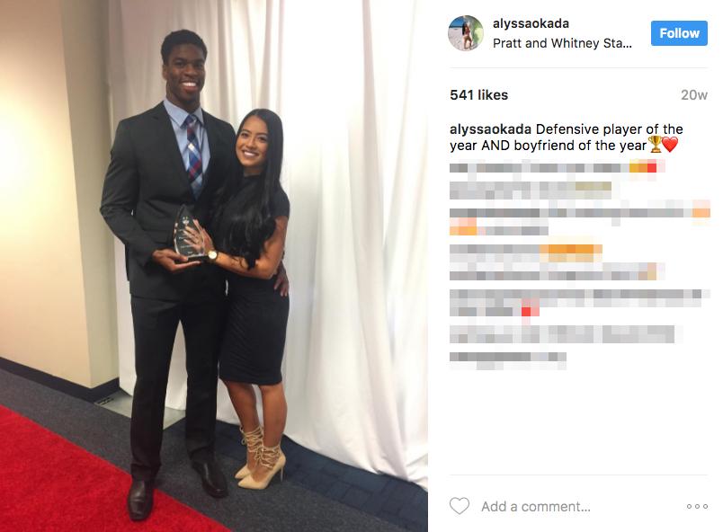 Obi Melifonwu's Girlfriend Alyssa Okada