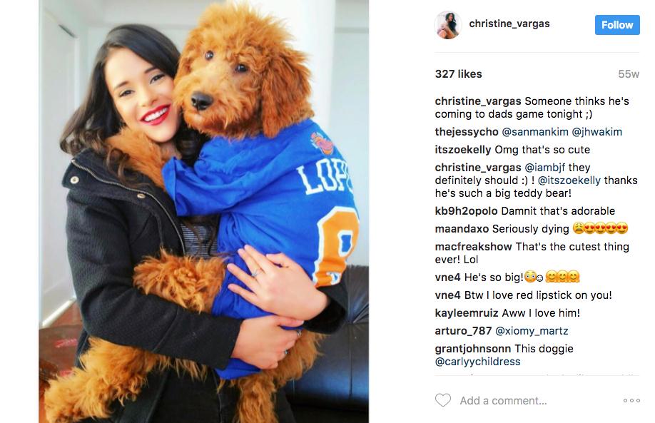 Robin Lopez' Girlfriend Christine Vargas