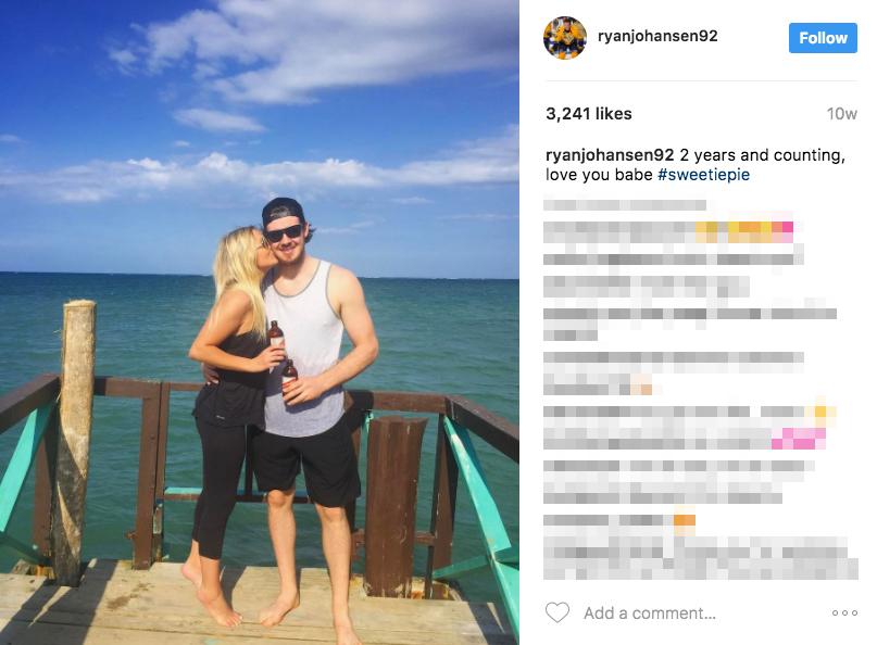 Ryan Johansen's Girlfriend Madison Bell