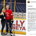 Ryan Johansen's Girlfriend Madison Bell -Instagram