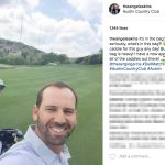 Sergio Garcia's girlfriend Angela Akins- Instagram
