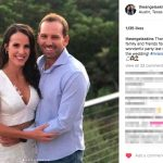 Sergio Garcia's girlfriend Angela Akins - Instagram