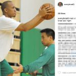 Avery Bradley's wife- Instagram