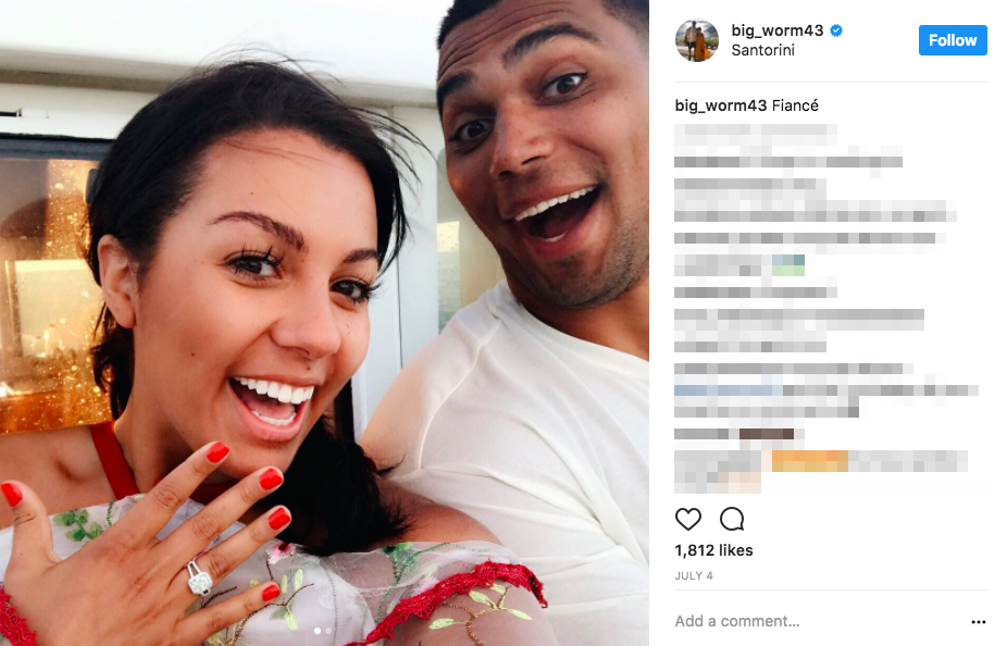 Chris Wormley's Girlfriend Alexis Dings