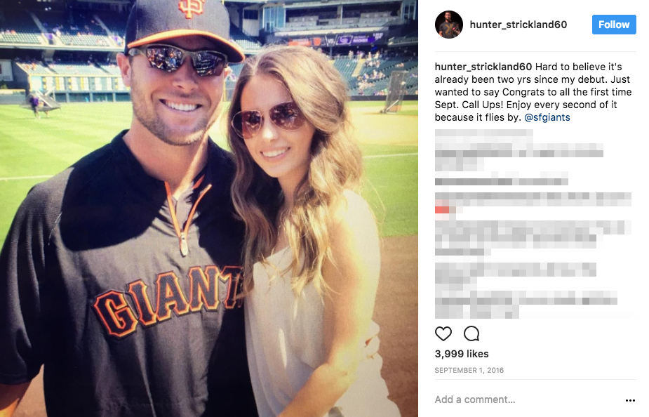 Hunter Strickland's Wife Shelley Strickland