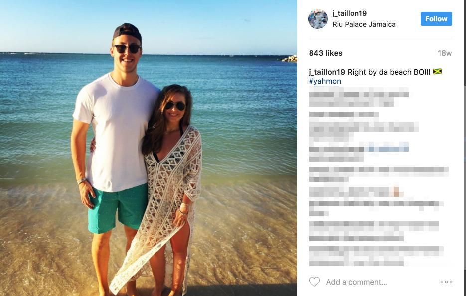 Jameson Taillon's Girlfriend Claire Petratis