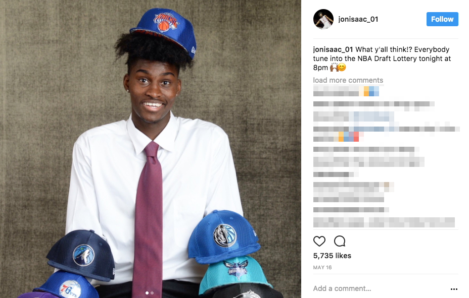 Jonathan Isaac's Mother Jackie