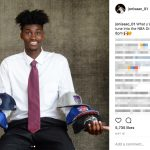 Jonathan Isaac's Mother Jackie-Instagram