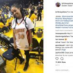 Kevin Durant's girlfriend Brittney Elena - Instagram