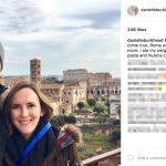Rex Burkhead's Wife Danielle Burkhead - Instagram
