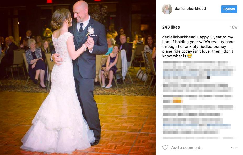 Rex Burkhead's Wife Danielle Burkhead