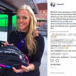 Richard Jefferson's Girlfriend - Jennie Finch - Instagram