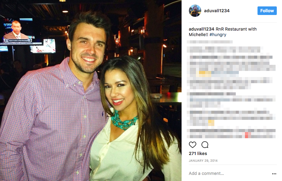 Adam Duvall's Girlfriend Michelle Carroll