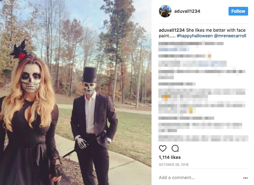 Adam Duvall's Girlfriend Michelle Carroll