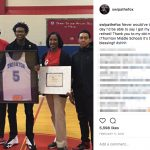 De'Aaron Fox's Mother Lorraine Fox - Instagram