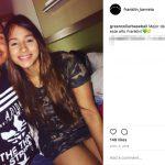 Franklin Barreto's Girlfriend Michelle Vega- Instagram