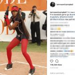 PlayerWives Recommends - Aaron Judge's girlfriend should be Naomi Campbell - Instagram
