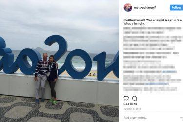 Matt Kuchar's wife Sybi Kuchar- Instagram