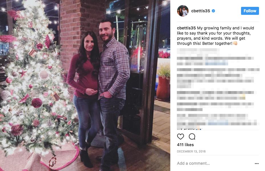 Chad Bettis' Wife Kristina Bettis