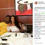 Gareon Conley's Girlfriend Isabella Gusmao -Instagram