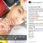 Terrance West's Girlfriend Melesha-Instagram