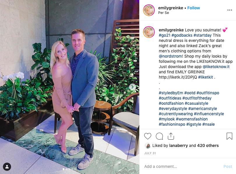 Zack Greinke's Wife Emily Greinke