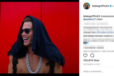 Blake Griffin Girlfriend History - Instagram