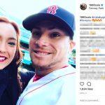 Christian Vazquez's Girlfriend Gabriela Otero -Instagram