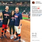 Jake Marisnick's Girlfriend Brittany Perry -Instagram