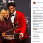 Lamar Jackson's Mom Felicia Jones-Instagram