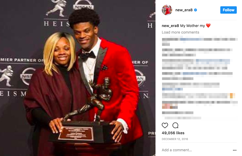 Lamar Jackson's Mom Felicia Jones