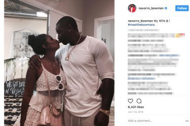 NaVorro Bowman's Wife Mikale Bowman- Instagram