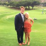 Sam Darnold's Girlfriend Claire Kirksey-Instagram
