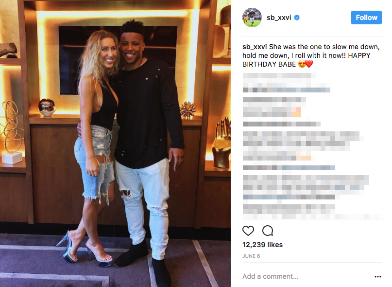 Saquon Barkley's Girlfriend Anna Congdon