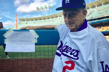 Tommy Lasorda's Wife Jo Lasorda - Twitter