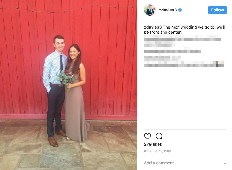 Zach Davies' Wife Meg Davies