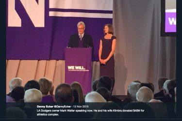 Mark Walter's wife Kimbra Walter - Twitter